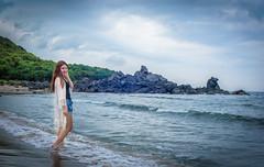 LCT_5993-2 (Eric LCT) Tags: sea portrait girl 50mm nikon asia taiwan taipei  f14d