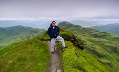 11 Ridge Rider (daedmike) Tags: beinn nan eachan thetarmachanridge scotland perthshire hills hillwalking poser knifeedge danger scenery landscape