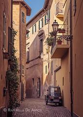 Orvieto Street (RaffaLUCE) Tags: orvieto umbria italy stone cobblestone afternoon travel italianarchitecture quaint travelphotography