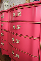 2016 0716 Peony French Provincial_Full Size-6 (Phoenix Restoration | Furniture by Christina) Tags: seattle pink baby phoenix by french furniture christina nursery magenta peony moore hollywood restoration benjamin dresser sideboard regency provincial edmonds lacquered