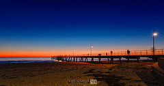 Sunset at Glenelg Jetty (jrazarcon) Tags: sunset night john ed photography outdoor pavement jetty au parks australia adelaide 20mm nikkor southaustralia glenelg afs azarcon nikond810 f18g jrazarcon