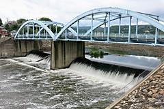 Cumberland MD ~ Potomac River falls (karma (Karen)) Tags: cumberland maryland alleganyco rivers potomacriver falls bridges