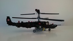 Kamov KA-50 Black Shark (Luka R) Tags: lego military helicopter kamov ka50 black shark chernaya akula