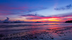 Lung Kwu Tan  (TommyYeung) Tags: blue sunset red summer orange cloud beach beauty canon photography hongkong evening twilight view dusk dslr       magicmoment afterglow gloaming   lungkwutan  canonphotography   canon7d