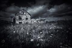 Eyibli (Geinis) Tags: iceland sland abandoned house blackandwhite black bw mygearandme moody atmosphere canon canon70d tokina1116mmf28 snfellsnes sky clouds dagverar