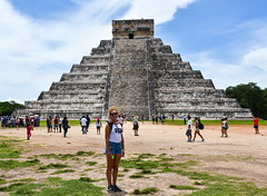 Visit to Chichen Itza, Mexico (littlestschnauzer) Tags: piramide de kukulcan chichen itza mayan site historical important holiday vacation tourist attraction july 2016 mexico el castillo chichenitza ancient place ruins city majestic summer visit excursion travel fascinating
