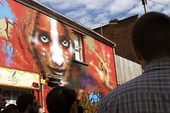 Upfest 2016 (thatmelissakid) Tags: upfest bristol bedminster streetart art festival red portrait old bookshop