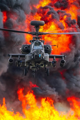 After The Damage Has Been Done (cjf3) Tags: apache ah64 apacheah64helicopter armyaircorps rafwattisham gunship
