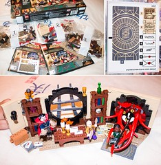 Lego 76060 Doctor Strange's Sanctum Sanctorum Review (Danny.B08) Tags: lego doctor strange steven stephen acient one karl mordo benedict cumberbatch tilder swinton review 76060 sanctum sanctorum tenticles monster beast spells magic moc diorama set bookshelf avengers marvel floating desk candle window new york evil villain hero iron man stark industries cameo easter egg infinity gem stone