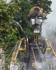 Man Engine comes to Tavistock (gasheadali) Tags: tavistock manengine heritage industry mining miner unesco unique puppet devon mechanical