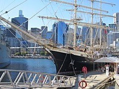 IMG_7987 Teanacious. (Boat bloke) Tags: sydney australia tallship square rigger ship timber boat wood wooden sea ocean darling harbour harbor tenacious canon sx50hs