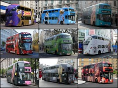 Collage - Borisbus overall advert (BristolRE2007) Tags: bus buses newbusforlondon newroutemaster london londonbus