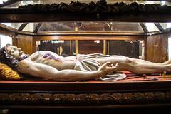 Shrine to Holy Saturday (djking) Tags: guadalajara jalisco jesus mexico chruch crucified glasscasket nails piercedside