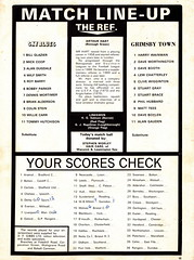 Coventry City vs Grimsby Town - 1973 - Page 15 (The Sky Strikers) Tags: coventry city grimsby town highfield road sky blue official magazine fa cup to wembley 8p