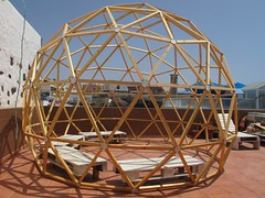 Domo Nautilus2 (Lunasanz) Tags: domosgeodesicos domos cupulas nautilus terraza fuerteventuta cotillofuerteventura