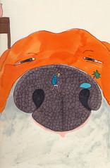 truffe oasis (sarahlouise.barbett) Tags: sarahlouise barbett barbettsarahlouise dessin museau chien