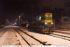 742.295-9 | tra 331 | Zln-sted (jirka.zapalka) Tags: train trat331 rada742 cdcargo stanice night zlin