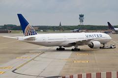 United Airlines   Boeing 777-200ER   N792UA   31.07.2016   Brussels Airport (Maciej Deli) Tags: united airlines boeing 777200er b777 b772 n792ua brussels zaventem airport triple seven