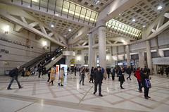 underground cross-road (myyorgda) Tags: d7000 tokina1116f28 leshalles paris france crowd crowded foule underground subway publicplace agora