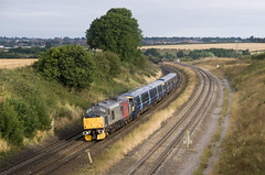37800 (Diamond Gaz) Tags: class 37 37800 rog rail operations group a45 wellingborough