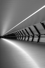 image (Kathi Huidobro) Tags: canarywharf architecture bw london architecturallighting onecanadasquare lightingdesign ledlighting reflections abstract blackwhite urban
