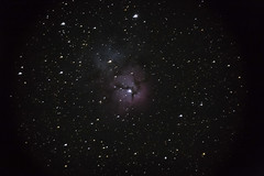 Trifid Nebula (Megan Huynh) Tags: messier m20 astronomy astrophotography astronomers astronomer trifidnebula sky starparty sbvaa stargazing darksky deepspace