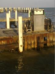 refueling at the pier (Sasha India) Tags: belizecity belize             caribbean