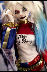 sneak sneak sneak peek (vampyre_angel13) Tags: harleyquinn harley quinn dccomics suicidesquad luts sdf event head delf bjd