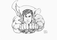 Superman (Lorkalt) Tags: superman superhomem kalel manofsteel clarkkent clark kent smallville metropolis dccomics krypton jerrysiegel joeshuster leolino lorkalt nonaarte goiania goias desenhista desenhos drawing sketch sketchdiario sketchdrawing