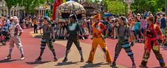 The Lost Boys (chadjholland) Tags: waltdisneyworld disneyworld magickingdom magic peterpan lostboys parade florida orlando dance sonya7rii sony