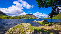 Sit a while and enjoy (Barry.Turner.Photography) Tags: cumbria lake district uk england sony a65 sigma1020mm buttermere landscape sigma outdoor serene architecture building grass grassland field mountain plant barry turner crummock long exposure wide angle