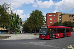 Docklands Buses SE104 YX61BWA Route D8 Trafalgar Way (TfLbuses) Tags: tfl public transport for london red buses alexander dennis enviro 200 docklands go ahead