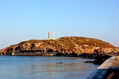 Palatia Island (ika_pol) Tags: naxos greece cyclades cycladesislands greekislands morning port geotagged mediterranean naxostown aegeansea sea aegean palatia protara apollo apollotemple