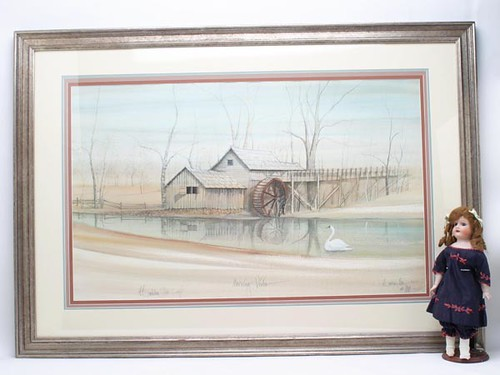 "Framed P. Buckley Moss Print, ""Mosby Mill"" ($448.00)"