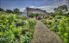 Kelmarsh Walled Garden 2 (Darwinsgift) Tags: kelmarsh hall northamptonshire garden walled nikkor 20mm f18 g hdr photomatix nikon d810