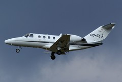 Cessna Citation Jet ~ OO-CEJ (Aero.passion DBC-1) Tags: dbc1 aeropassion david biscove aviation avion aircraft plane spotting lbg bourget cessna citation jet ~ oocej