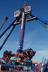 DSC02262 (A Parton Photography) Tags: fairground rides spinning longexposure miltonkeynes fireworks bonfire november cold