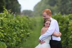 Vinyard Hug (dr.snitch) Tags: wedding weddings bride groom married marriage hug hugs briangeltner brian geltner photography weddingphotography photographer
