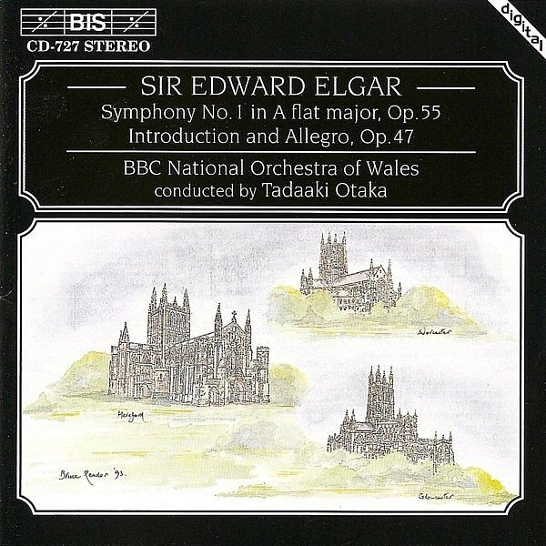 Elgar Symphony No. 1 Bbc National Orchestra Of Wales Bis