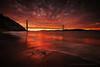 Super Burn at Kirby Cove (Andrew Louie Photography) Tags: bridge coffee golden kirby gate san francisco cove jazz super burn