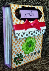 To save all the lovely ATC's I receive. (CraftyBev) Tags: atc holder