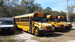 Oak Hall School Visions (abear320) Tags: blue school bus bird hall oak florida gainesville vision