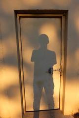 Locked door (Jonathan O'Donnell) Tags: door shadow selfportrait lock doorlock