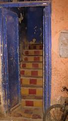 Door in Marrakech (Armando Moreschi) Tags: africa door scale morocco porta marocco marrakech oldcity armandomoreschi