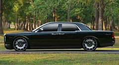 The new Lincoln Continental? (Digital_Third_Eye) Tags: trees black green classic sedan outdoors photo flickr internet continental icon chrome lincoln mysterious 1960s concept urbanlegend suicidedoors carshowhopeful