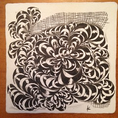 """#zentangle • <a style=""""font-size:0.8em;"""" href=""""http://www.flickr.com/photos/14001409@N08/16804422817/"""" target=""""_blank"""">View on Flickr</a>"""