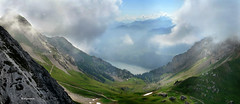 Pilatus (welenna) Tags: summer panorama mountains landscape switzerland view berge