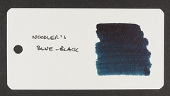 Noodler's Blue-Black - Word Card