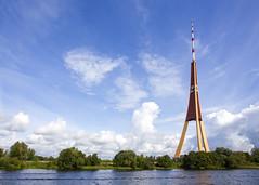 Riga (Hans van der Boom) Tags: vacation holiday baltic latvia riga tv radio tower high tall modern architecture structure lv pregamewinner gamewinner perpetualwinner
