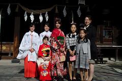 Sena's Shichi-Go-San ( (Hada ) Tags: family japan japanese  kimono  japn furisode
